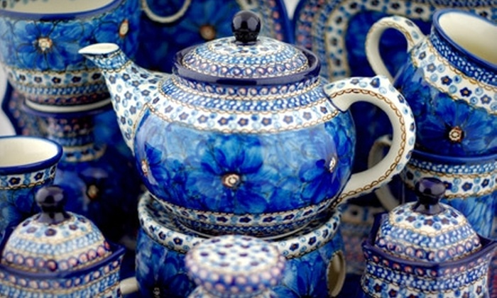 Polmedia Polish Pottery - Seguin: $20 for $40 Worth of Hand-Painted Polish Stoneware at Polmedia Polish Pottery in Seguin