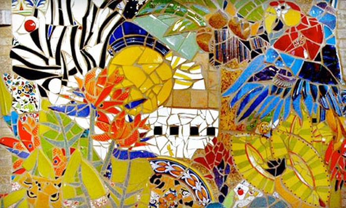 The Mosaic Shop - Jackson: Mosaic Workshop for One, Two, or Four at The Mosaic Shop (Half Off)