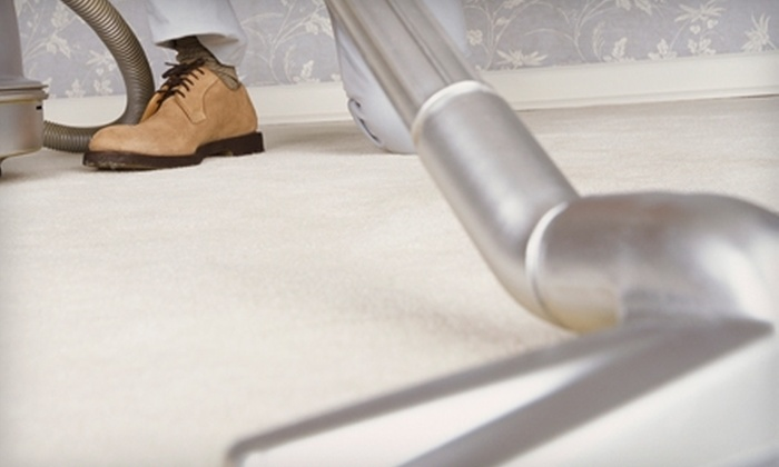 Imperial Cleaning Service - Civic Center: $165 for Six-Room Carpet Cleaning from Imperial Cleaning Service ($312 Value)