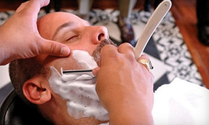 Primos Barber Shop - Kendall: $27 for a Haircut and Hot-Towel Shave at Primos Barber Shop ($47 Value)