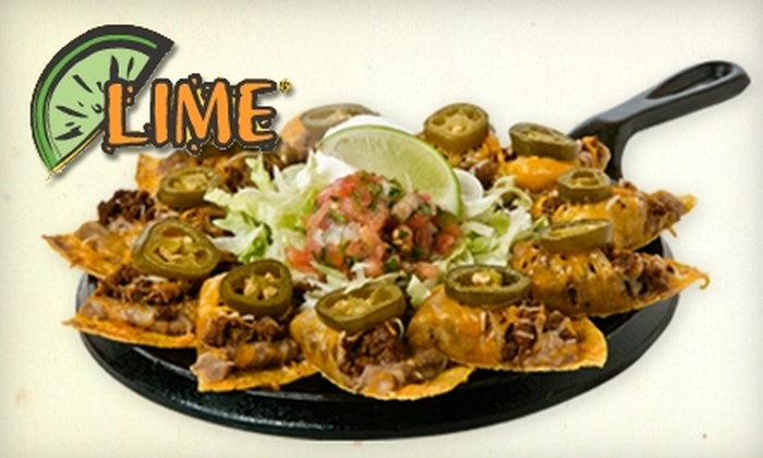 Lime Fresh Mexican Grill - Orlando: $7 for $15 Worth of Zesty Fare at Lime Fresh Mexican Grill