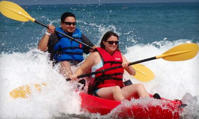 Bike & Kayak Tours - La Jolla Shores: $39 for a Kayak Tour of the 7 Caves and Ecological Reserve for Two from Bike & Kayak Tours in La Jolla (Up to $80 Value)