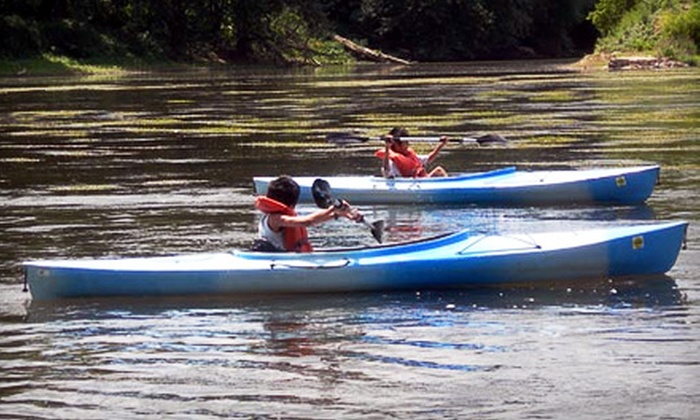Juniata River Adventures - Mifflintown: $17 for Kayak Rental with Shuttle Service from Juniata River Adventures in Mifflintown ($35 value)