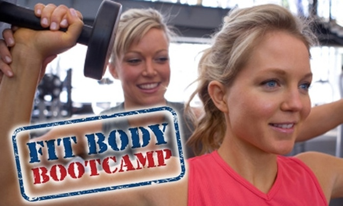 Fit Body Boot Camp - Multiple Locations: $39 for One Month of Unlimited Boot Camp Classes at Fit Body Boot Camp (Up to $197 Value). Choose From Seven Locations.