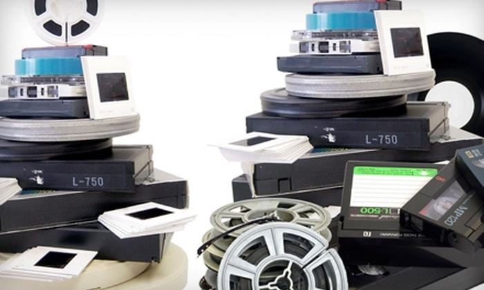 Fodeo - Hinsdale: $39 for $100 Worth of Digitization of Photos and Movies from Fodeo in Hinsdale