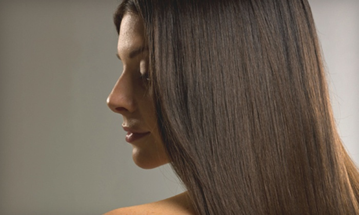 Tammy Hansen at Salon Monet - Urbandale: Women's Haircut or a Haircut with Color or Keratin Blowout from Tammy Hansen at Salon Monet in Clive (Up to 59% Off)