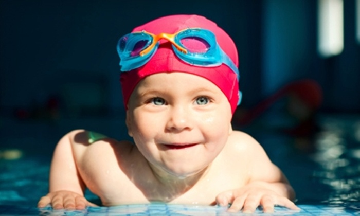 Dolphin Swim Club - South Beloit: $30 for One Month of Kids' Swim Lessons at Dolphin Swim Club ($60 Value)