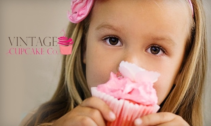 Vintage Cupcake Co. - Ogden: $5 for $10 Worth of Cupcakes and More at Vintage Cupcake Co.