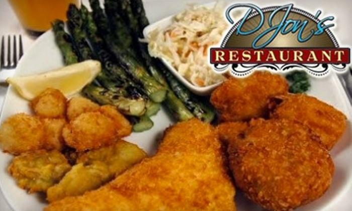 DJon's Restaurant - Lobdell/Woodale: $15 for $30 of Southern Fare at D Jon's Restaurant