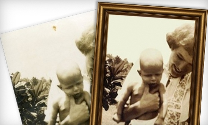 Mikal Brooke Photography - Savannah / Hilton Head: $10 for $65 Worth of Photo Digitization or $69 for $200 Worth of Photo-Restoration Services at Mikal Brooke Photography