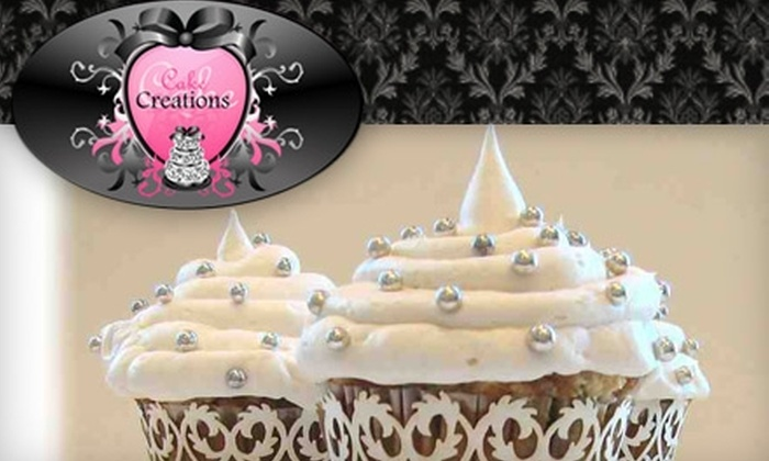 Cake Creations - Twin Acres: $13 for a Dozen Gourmet Cupcakes at Cake Creations in Pembroke Pines ($27 Value)