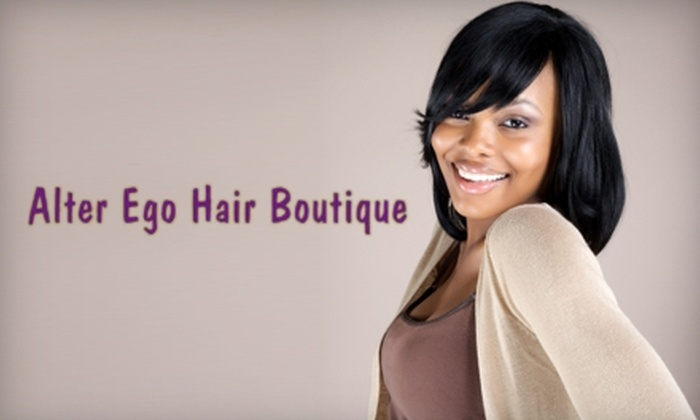 Alter Ego Hair Boutique - Evans: $20 for Mani-Pedi ($40 Value) or $15 for a Shampoo, Blow-Dry, and Flat-Iron Treatment (Up to $35 Value) at Alter Ego Hair Boutique