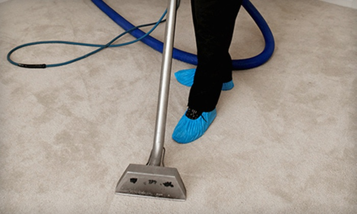 V Clean - Columbia: Carpet Cleaning for Two, Three, or Four Rooms from V Clean (Up to 56% Off)