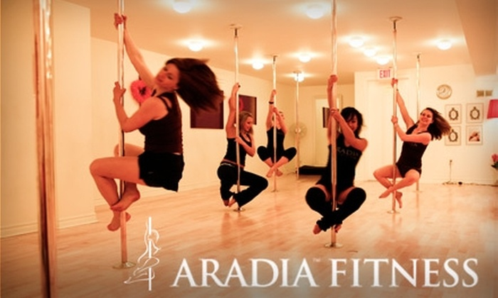 Aradia Fitness - Port Coquitlam: $49 for a Four-Week Session of Pole-Dancing Classes at Aradia Fitness in Port Coquitlam ($100 Value)