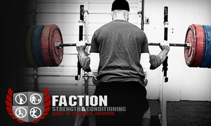 Faction Strength & Conditioning - Memphis: $50 for 12 On-Ramp Classes at CrossFit Memphis ($150 Value)