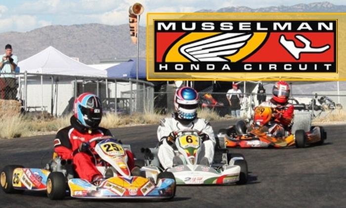 Musselman Honda Circuit - Tucson: $30 for Three Kart Races at Musselman Honda Circuit ($90 Value)