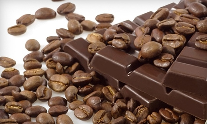 Flying Rhino Coffee & Chocolate - Multiple Locations: $5 for $10 Worth of Coffee, Chocolate, and More from Flying Rhino Coffee & Chocolate