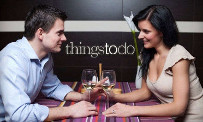 ThingsToDoDC - Downtown - Penn Quarter - Chinatown: $15 for an Open Bar Speed-Dating Singles Party from Things To Do D.C. Choose Between Two Ticket Options.