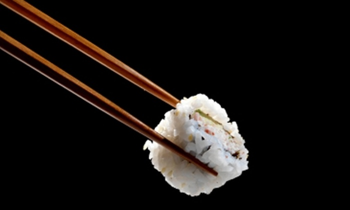 Deep Sushi - Deep Ellum: $20 for $40 Worth of Fresh Sushi and Non-Alcoholic Drinks at Deep Sushi