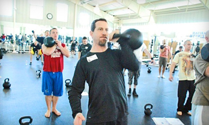 Russian Kettlebell Club of Fresno - Fresno: $20 for Five Kettlebell or CrossFit Classes at Russian Kettlebell Club of Fresno (Up to $100 Value)