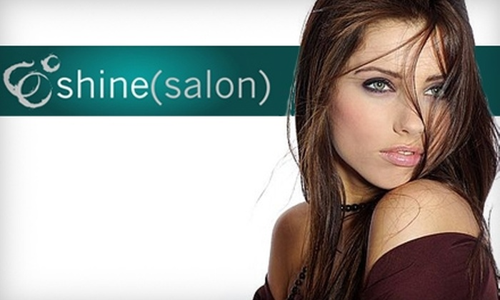 shine(salon) - Downtown Huntsville: $25 for $50 Worth of Hair and Waxing Services at shine(salon)