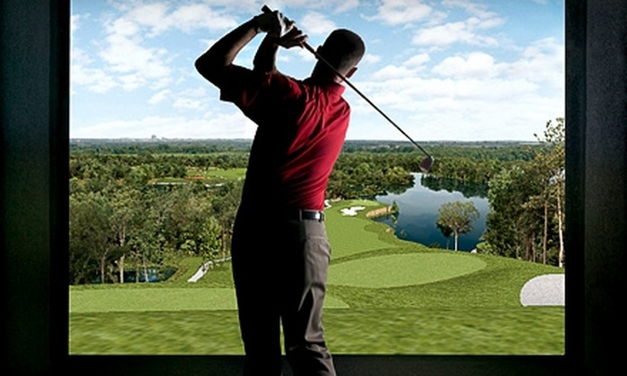 Golf Nation - Palatine: $75 for Five Day Passes and a 60-Minute Golf-Simulator Session at Golf Nation in Palatine (Up to $190 Value)