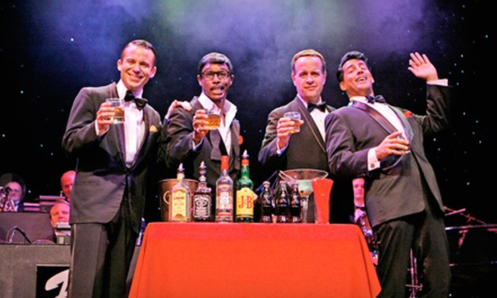 """""""The Rat Pack is Back!"""" - New Brunswick: $17 for One Ticket to See """"The Rat Pack is Back!"""" at State Theatre in New Brunswick (Up to $44 Value). Two Dates Available."""