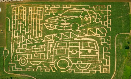 2 Passes (up to a $20 value) - Meadow View Corn Maze in Harvard