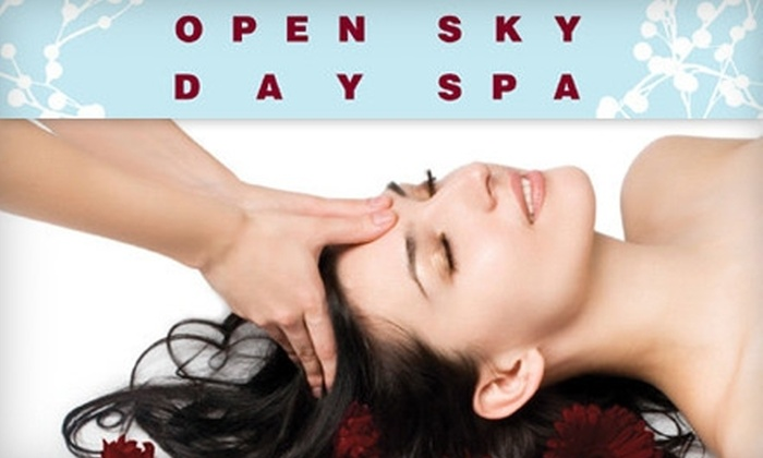 Open Sky Day Spa - Grandview Heights: 60-Minute Swedish, Deep-Tissue, or Two-Person Massage at Open Sky Day Spa. Choose from Two Options.
