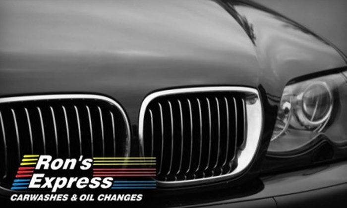 Ron's Express - Multiple Locations: $12 for Two Ultimate Car Washes at Ron's Express ($24 Value)