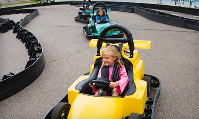Checkered Flag Raceway - Springfield, MA: $15 for $30 Worth of Go-Kart Racing at Checkered Flag Raceway in Berlin