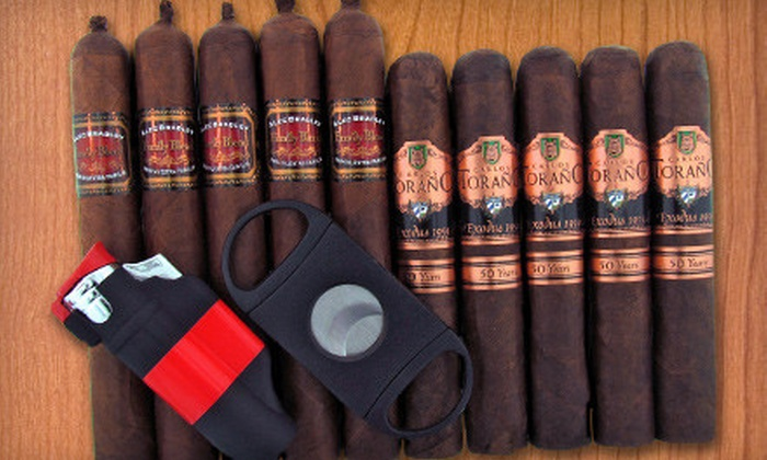 Cigar King - Scottsdale: $59 for a Holiday Cigar Collection from Cigar King ($120 Value)
