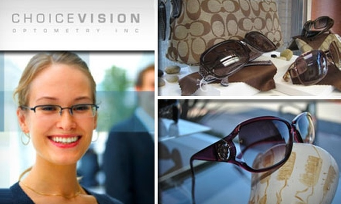 Choice Vision Optometry - Rolling Hills Ranch: $50 for $100 Worth of Glasses, Frames, and Contact Lenses at Choice Vision Optometry