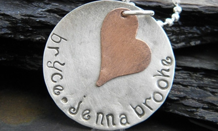 Jennarosity: $10 for $20 Worth of Hand-Stamped Jewelry from Jennarosity