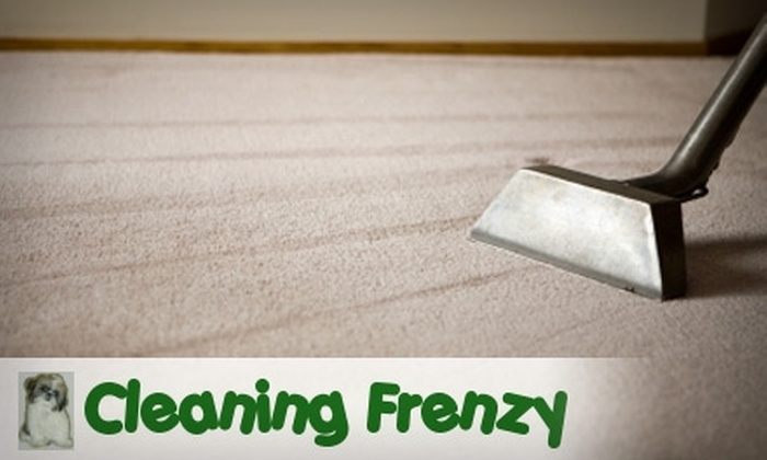 Cleaning Frenzy - Tucson: $75 for $150 Worth of Carpet Cleaning from Cleaning Frenzy
