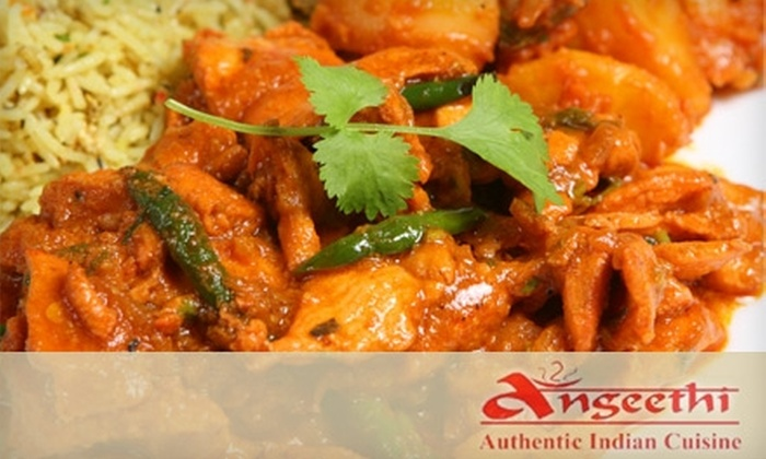 Angeethi - Bethesda: $12 for $25 Worth of Authentic Indian Fare at Angeethi