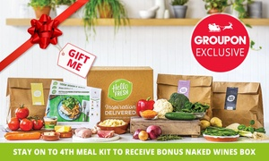 HelloFresh: HelloFresh: First or First Two Weeks Delivered Meal Kits from $19.90 (Up to 69% Off)  - New Customers Only