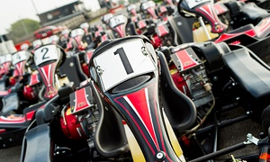 Lakeside and Brentwood Karting: Karting at Choice of Location with Lakeside & Brentwood Karting (50% Off)