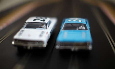 30-Minute Slot-Car Racing Session for Two or Four at PJ Raceway (Up to 39% Off)