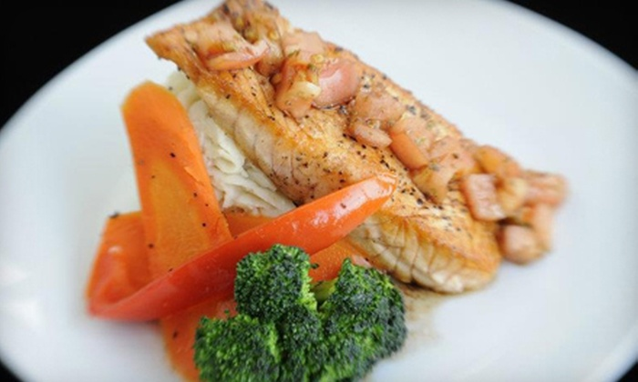 Uptown Gourmet Grill & Bar - Kenmount-Thorburn: Casual Cuisine at Uptown Gourmet Grill & Bar (Half Off). Two Options Available.