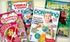 Blue Dolphin Magazines **NAT**: One- or Two-Year Family-Magazine Subscription from Blue Dolphin Magazines (Up to 60% Off). 10 Options Available.