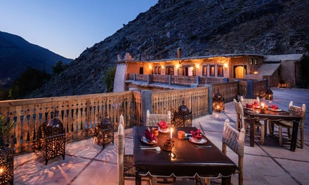 Morocco: Up to 14 Nights for Two Adults and One Child in Standard Double Room with Breakfast at Le Village du Toubkal