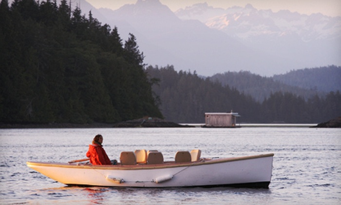Tofino Water Taxi - Tofino: $49 for a 90-Minute Boat Tour for Two aboard Zero-Emission Charter Boat from Tofino Water Taxi ($98 Value)