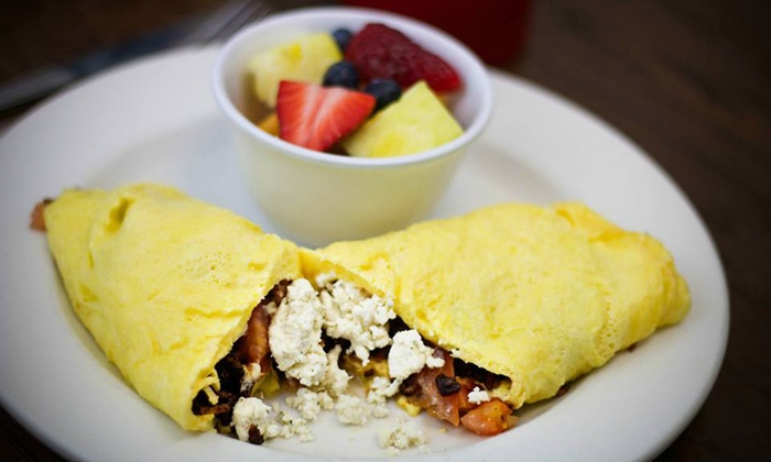 Famous Toastery  - Downtown Winston-Salem: $12 for $20 Worth of American Breakfast, Brunch and Lunch Fare and Drinks for Two at Famous Toastery