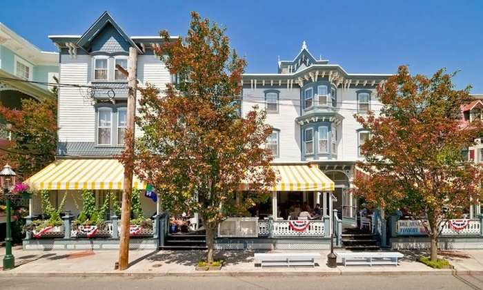 Carroll Villa Hotel - Cape May, NJ: Stay with a Trolley Tour and Wine and Beer Tastings at Carroll Villa Hotel in Cape May, NJ. Dates into December.