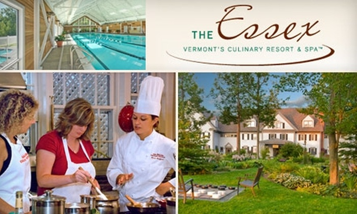 The Essex Resort & Spa - Essex Town: Four-Diamond Vermont Getaway to The Essex Resort & Spa in Essex. Choose One of Two Vacation Packages.