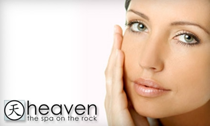 Heaven the Spa on the Rock - Victoria: $40 for a Facial Microdermabrasion Treatment ($84 Value) or $20 for a Brazilian Wax ($43.68 Value) at Heaven the Spa on the Rock