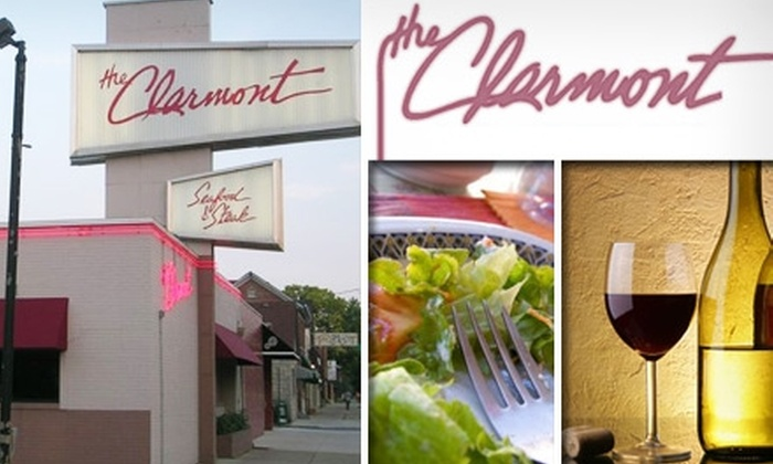 The Clarmont - Brewery District: $15 for $30 Worth of Fine Dining and Drinks at The Clarmont