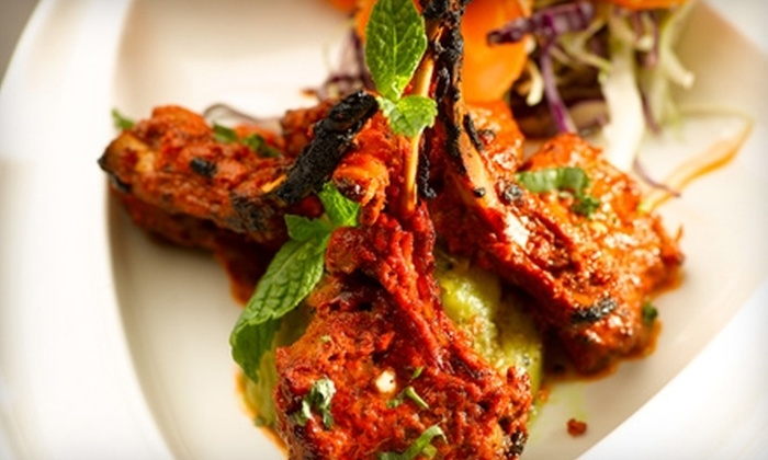 Guru Restaurant & Bar - Edmonton: $20 for $40 Worth of Indian-Inspired Fare and Drinks at Guru Restaurant & Bar