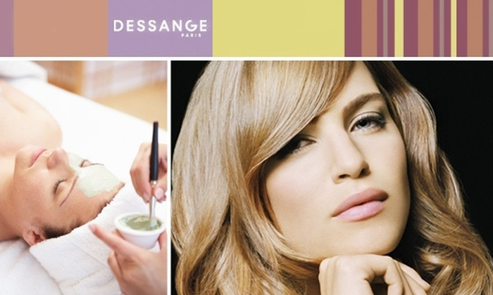Dessange Paris - Washington Ave./ Memorial Park: $60 for European Facial and Diamond Peel at Dessange Paris